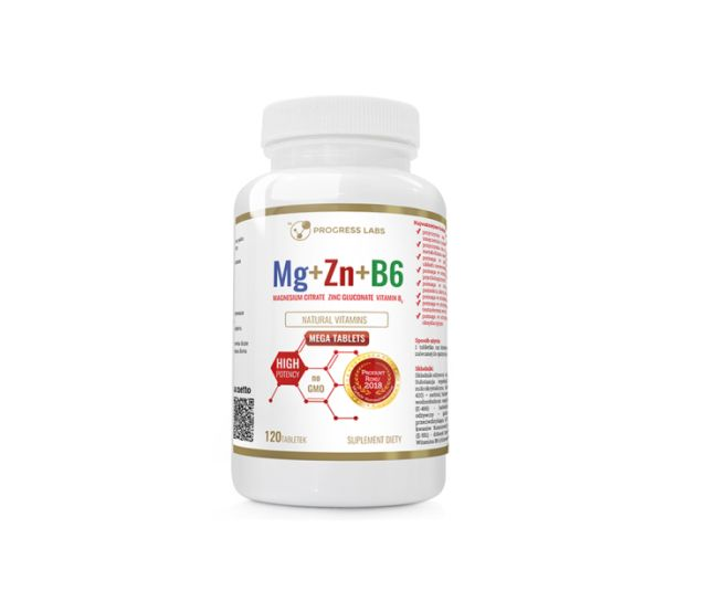 magnez-cynk-witamina-b-6-progress-labs